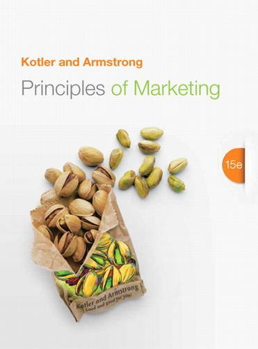 Principles of Marketing  15th 2014 9780133084047 Front Cover