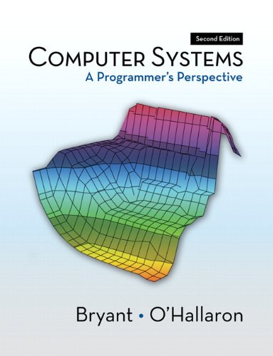 Computer Systems A Programmer's Perspective 2nd 2011 edition cover