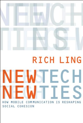 New Tech, New Ties How Mobile Communication Is Reshaping Social Cohesion  2007 9780262515047 Front Cover