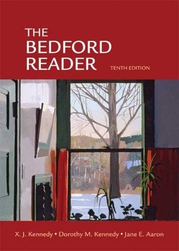 Bedford Reader  10th 2009 edition cover