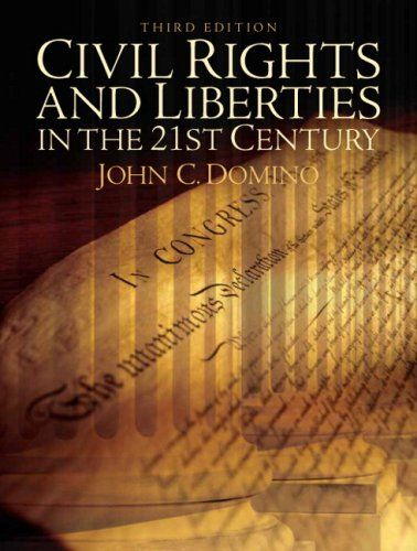 Civil Rights and Liberties in the 21st Century  3rd 2009 (Revised) edition cover
