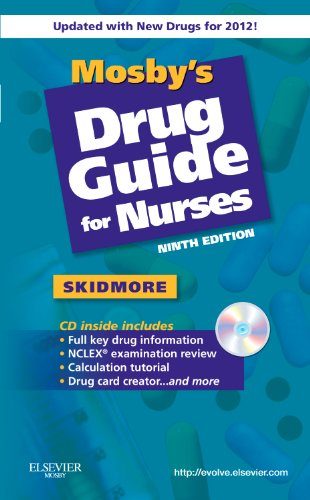 Mosby's Drug Guide for Nurses, with 2012 Update  9th 2011 edition cover
