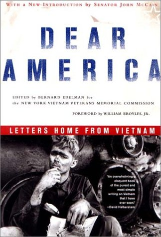 Dear America Letters Home from Vietnam  2002 edition cover