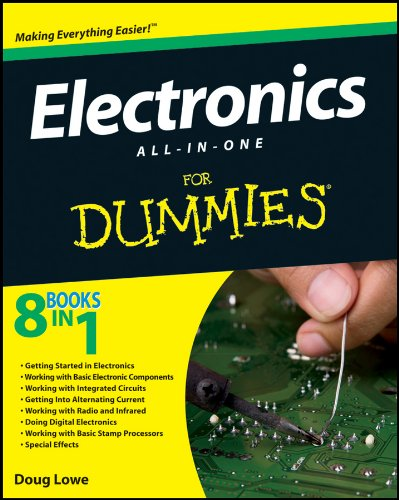 Electronics All-in-One for Dummies�   2012 edition cover