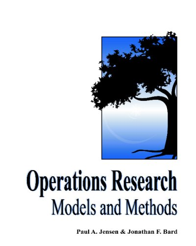 Operations Research Models and Methods   2003 edition cover