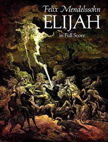 Elijah in Full Score  N/A edition cover