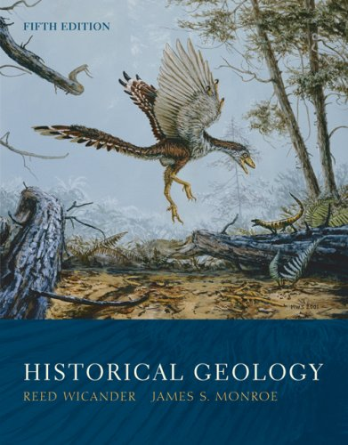 Historical Geology  5th 2007 edition cover
