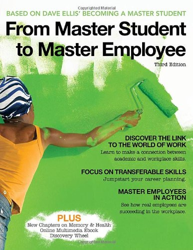 From Master Student to Master Employee  3rd 2011 edition cover
