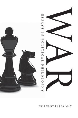 War Essays in Political Philosophy  2008 edition cover