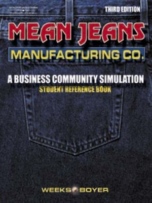 Mean Jeans Manufacturing  3rd 2002 9780538432047 Front Cover