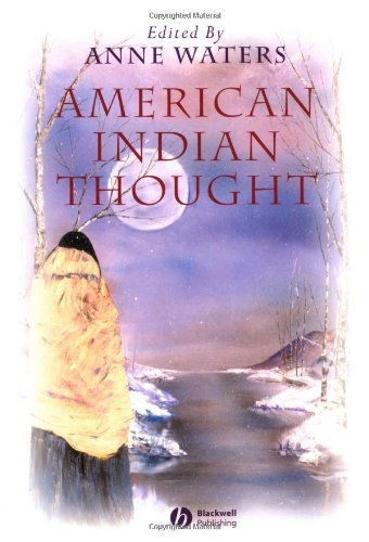 American Indian Thought Philosophical Essays  2003 edition cover
