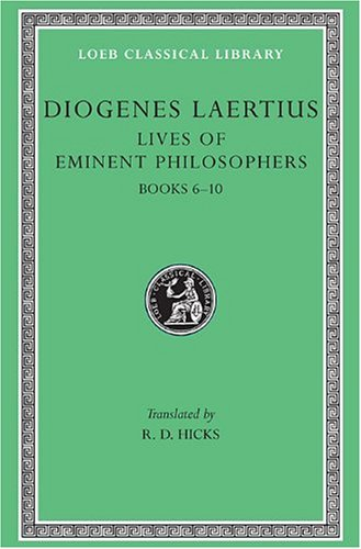 Lives of Eminent Philosophers   1925 edition cover