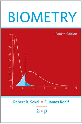Biometry  4th 2012 (Revised) edition cover