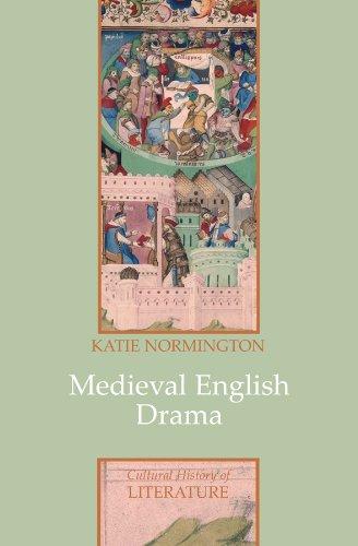 Medieval English Drama   2009 edition cover