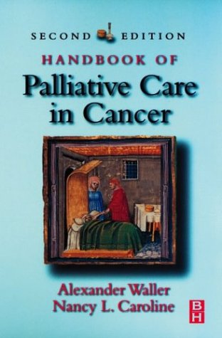 Handbook of Palliative Care in Cancer  2nd 2000 (Revised) edition cover