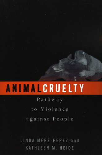 Animal Cruelty Pathway to Violence Against People  2003 edition cover