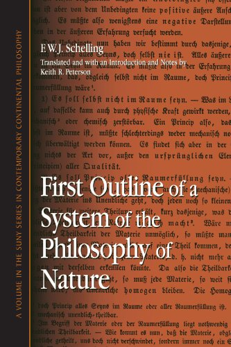 First Outline of a System of the Philosophy of Nature   2004 edition cover