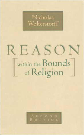 Reason within the Bounds of Religion  2nd 1976 edition cover