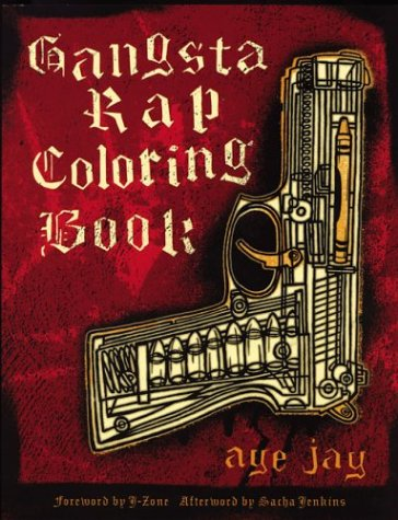 Gangsta Rap Coloring Book   2004 edition cover