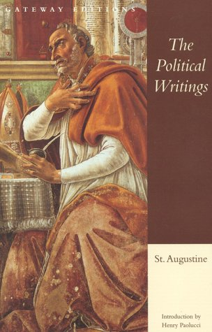 Political Writings of St. Augustine   1996 edition cover