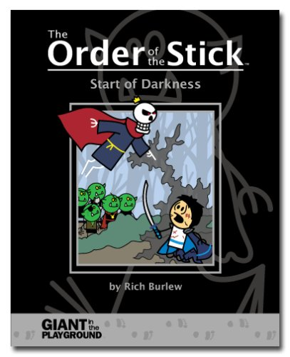 Order of the Stick Start of Darkness  2007 edition cover