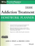 Addiction Treatment Homework Planner  5th 2016 9781119278047 Front Cover
