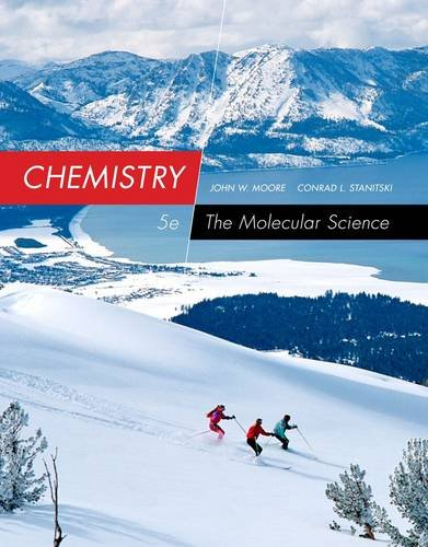 Chemistry: The Molecular Science  2014 9781285199047 Front Cover