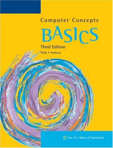 Computer Concepts  3rd 2007 9781418865047 Front Cover