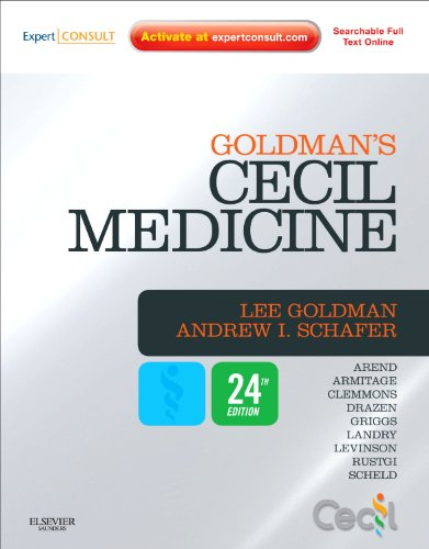 Goldman's Cecil Medicine Expert Consult Premium Edition -- Enhanced Online Features and Print, Single Volume 24th 2012 9781437716047 Front Cover