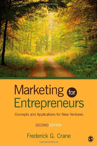 Marketing for Entrepreneurs Concepts and Applications for New Ventures 2nd 2013 edition cover