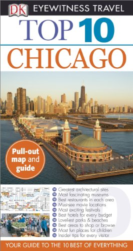 Top 10 Eyewitness Travel Guide - Chicago  N/A 9781465410047 Front Cover