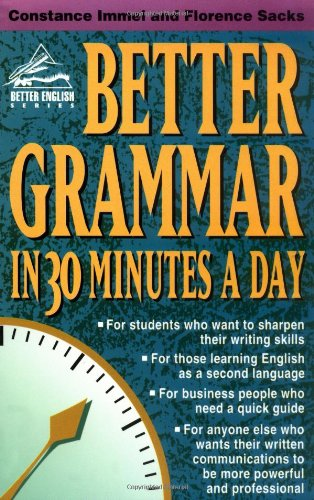 Better Grammar in 30 Minutes a Day   1997 edition cover