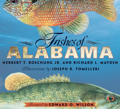 Fishes of Alabama   2003 edition cover