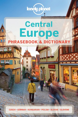 CENTRAL EUROPE PHRASEBOOK 4  4th 2013 (Revised) edition cover