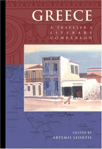 Greece A Traveler's Literary Companion  1997 edition cover