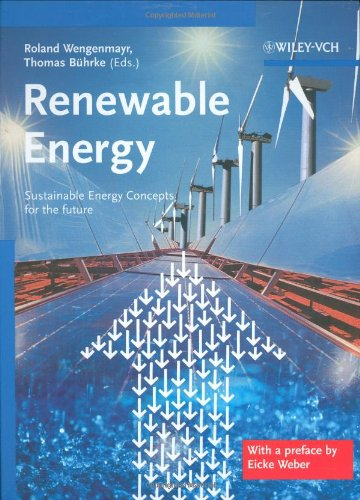 Renewable Energy Sustainable Energy Concepts for the Future  2008 edition cover