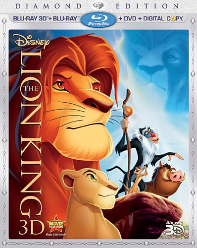 The Lion King (Four-Disc Diamond Edition Blu-ray 3D / Blu-ray / DVD / Digital Copy) System.Collections.Generic.List`1[System.String] artwork