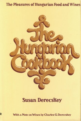 Hungarian Cookbook  1972 9780060110048 Front Cover