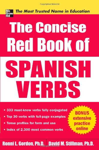 Concise Red Book of Spanish Verbs   2011 9780071761048 Front Cover