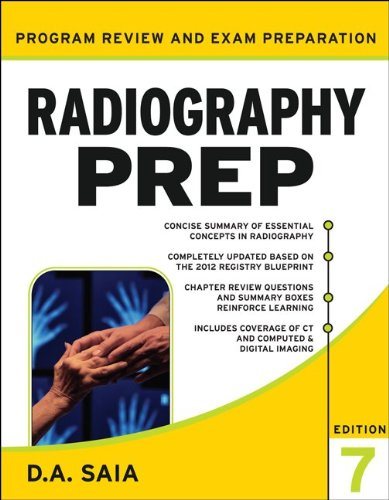 Radiography PREP  7th 2012 edition cover