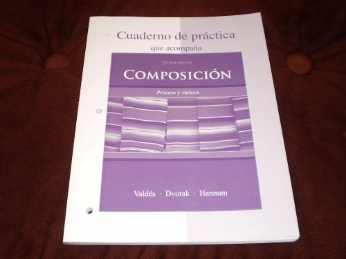 Composici�n Proceso y S�ntesis 5th 2008 edition cover