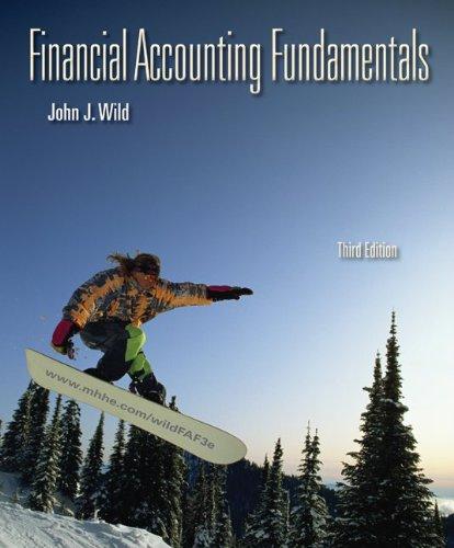 Financial Accounting Fundamentals  3rd 2011 edition cover