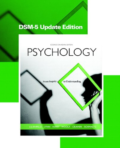 Psychology From Inquiry to Understanding, Second Canadian Edition, DSM-5 Update Edition 2nd 2015 9780133793048 Front Cover