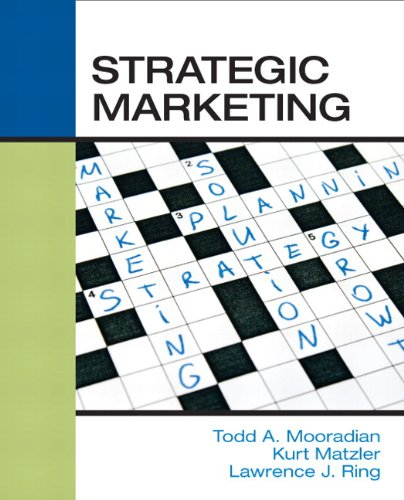 Strategic Marketing   2012 (Revised) edition cover