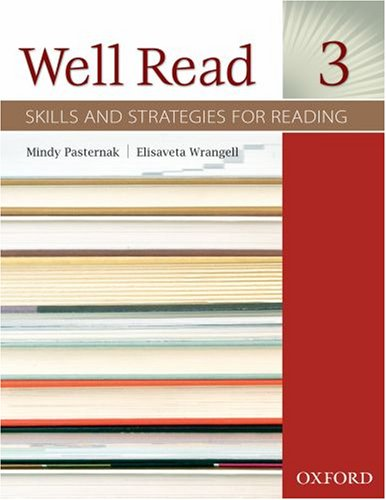 Well Read, Level 3 Skills and Strategies for Reading  2008 (Student Manual, Study Guide, etc.) edition cover