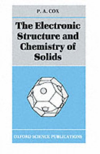 Electronic Structure and Chemistry of Solids   1987 edition cover