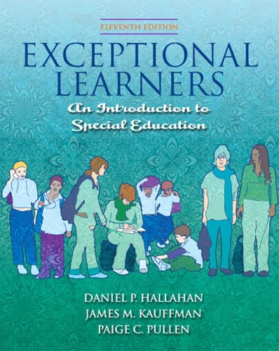 Exceptional Learners Introduction to Special Education 11th 2009 edition cover