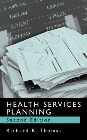 Health Services Planning  2nd 2003 (Revised) edition cover