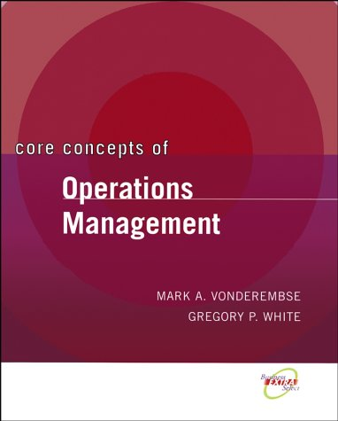 Core Concepts of Operations Management   2004 edition cover