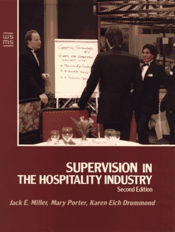 Supervision in the Hospitality Industry  2nd 1992 9780471549048 Front Cover